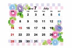 2019季節イラストカレンダー2-7のコピー