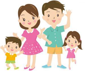 親子3人のコピー