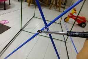 自転車,ポート,DIY,子供,自転車,収納,針金,強度,縛り方