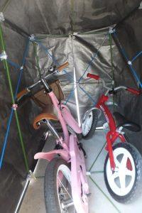 自転車,ポート,DIY,子供,自転車,収納,置き場
