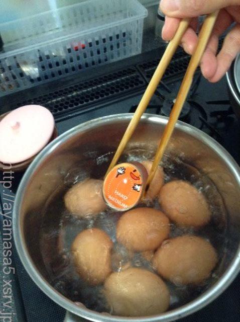 DAISO,ダイソー,検証,実験,半熟ゆで卵,作り方,おすすめ