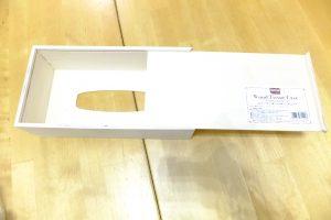 セリア木製ティッシュケースでDIY2