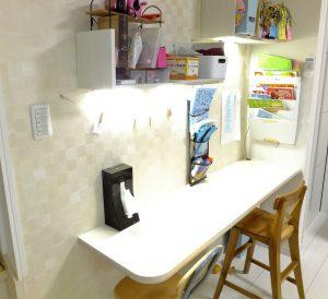 壁,ニッチ,棚,作成,DIY,壁の厚みを活かす