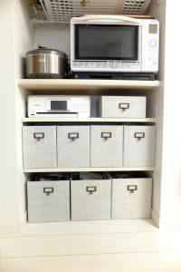 リメイクシートで統一感UP収納箱DIY