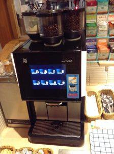 ブロンコビリー コーヒーマシーン