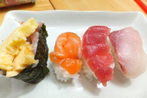 「とびだせ!おすし」でできた寿司1
