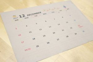 自作 カレンダー テンプレート 無料 クラフト
