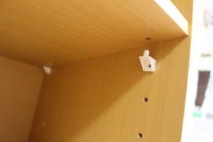 ニトリ カラーボックス 棚受け 方法