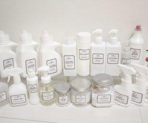 ホワイトボトル素材 無料テンプレ 洗剤 サニタリー 掃除用品
