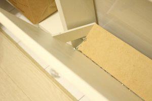 ディアウォールで作った棚,原状回復,安い,DIY,ぱたぱた,扉