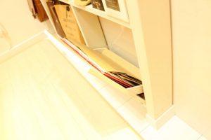 ディアウォールで作った棚,原状回復,安い,DIY,100均材料,簡単