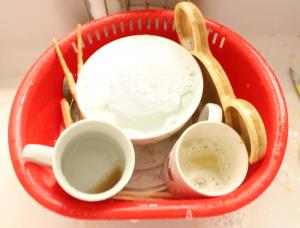 実際に比べる,比較,食洗器,手洗い,食器,水,水道代,引き出しタイプ