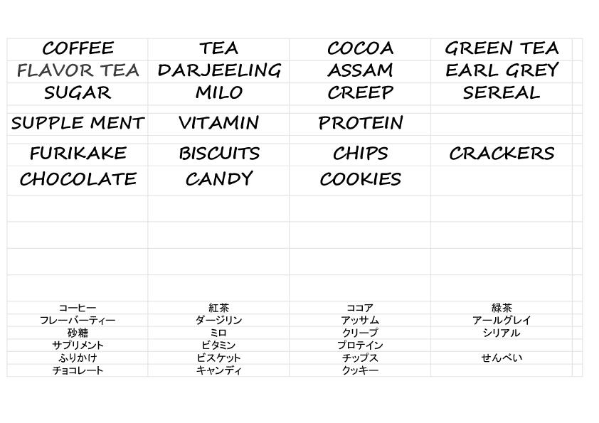 手書き風フォント.,ラベル一覧,簡単,ラベル,作成,テンプレート,無料,飲料,お菓子,サプリ
