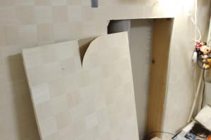 壁,石膏ボード,DIY,ニッチ,空間利用
