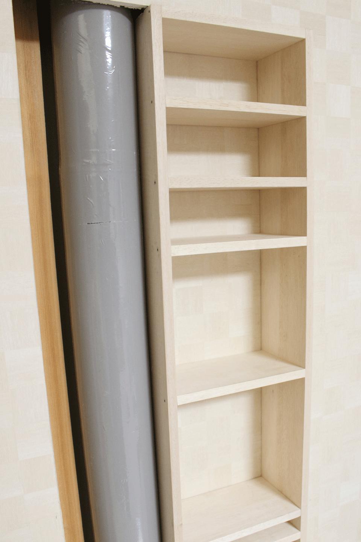 壁,ニッチ,収納力UP,方法,作り方,注意点,DIY,日曜大工