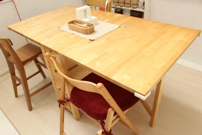 IKEA,バタフライテーブル,イケア,折りたたみ,ダイニング