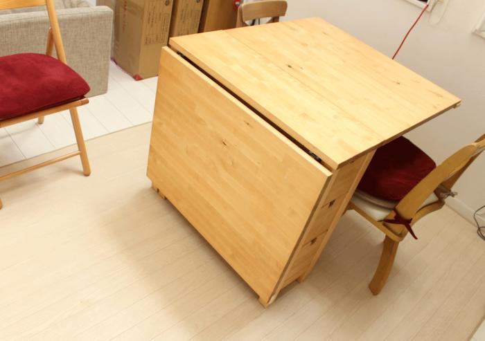 IKEA,バタフライテーブル
