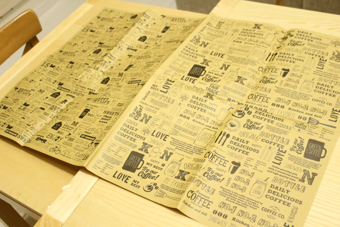 セリア,100均,クラフト,おしゃれ,包装紙