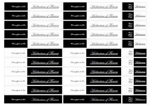 ハーバリウム,カード,タグ,メモ,ラベル,モノトーン,無料,ダウンロード,配布,素材,テンプレート