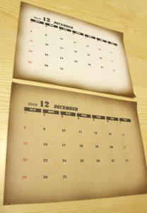 カレンダー,2019,男前,無料