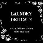 洗濯洗剤,モノトーンラベル,70mm,英字,英語,高級