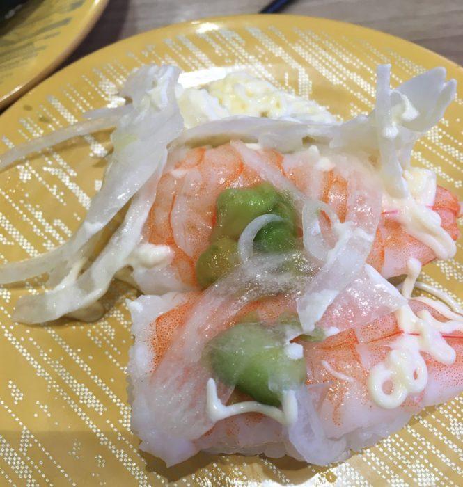 えびアボカド,かっぱ寿司,画像