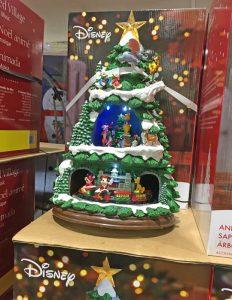 ディズニー,コストコ,ミッキー,クリスマスツリー,音が出る,汽車が回る