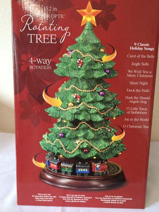 コストコ,クリスマスツリー,回る,汽車,