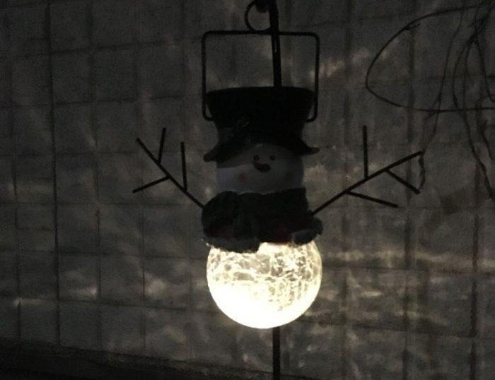 クリスマス,装飾,イルミネーション,かわいい,コストコ,お手頃,ソーラー電池