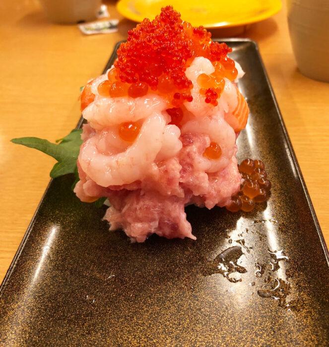 海鮮爆盛マウンテン,スシロー,回転ずし,寿司,おすすめ,メニュー,期間限定,感想