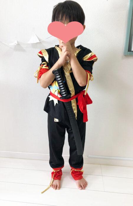 楽天市場,忍者,衣装,コスチューム,かっこいい,幼児,4歳,5歳,