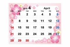 2019季節イラストカレンダー2-4のコピー