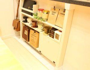 ディアウォールで作った棚,原状回復,安い,DIY,お得