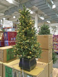 コストコ,イルミネーション付き,価格,値段,クリスマスツリー