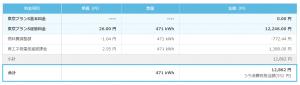 楽天でんき,東京電力,比較,どちらが,得